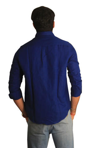 32c7b63b Banana Republic Royal Blue Casual Linen Shirt from Banana Republic –  coutloot.com