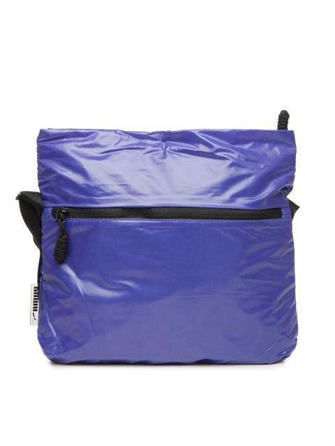 ee70e69bfb01 Puma Blue Gym Lux Sling Bag from Puma – coutloot.com