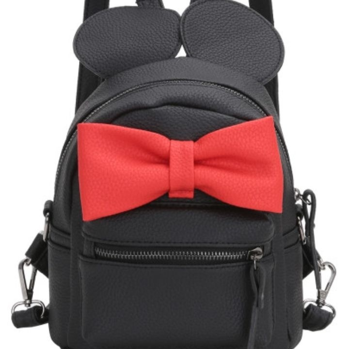 9a22fedf71c Black cute Mickey Mouse Backpack from SHEIN – coutloot.com