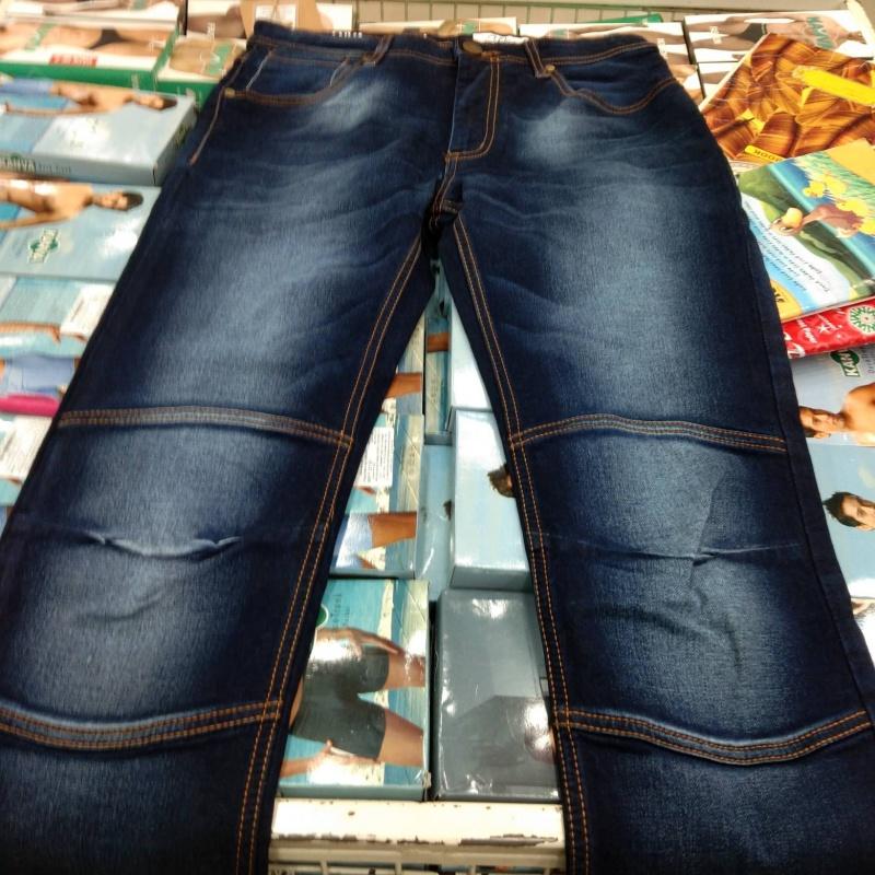 68987977 Blue denim jeans from Raymond – coutloot.com