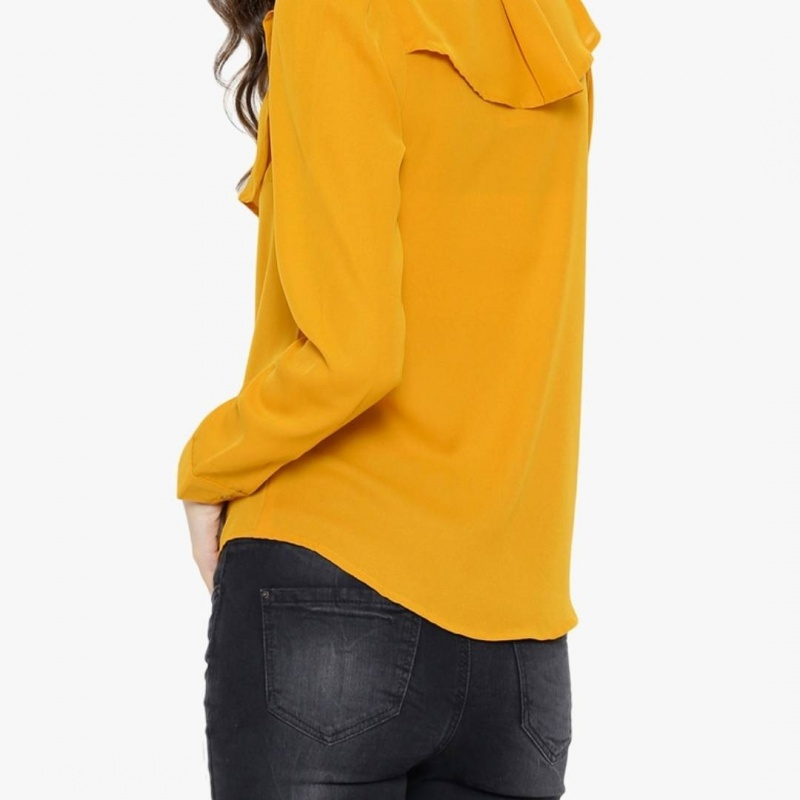 Womens mustard yellow shirt from Sassafras – coutloot.com 30357826b1f0