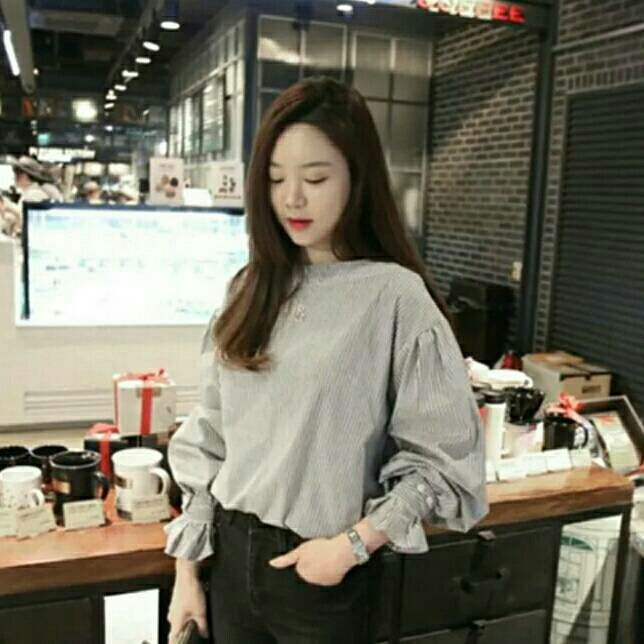 5e974af6bd702 Korean long sleeve loose T-shirt from Club Factory – coutloot.com