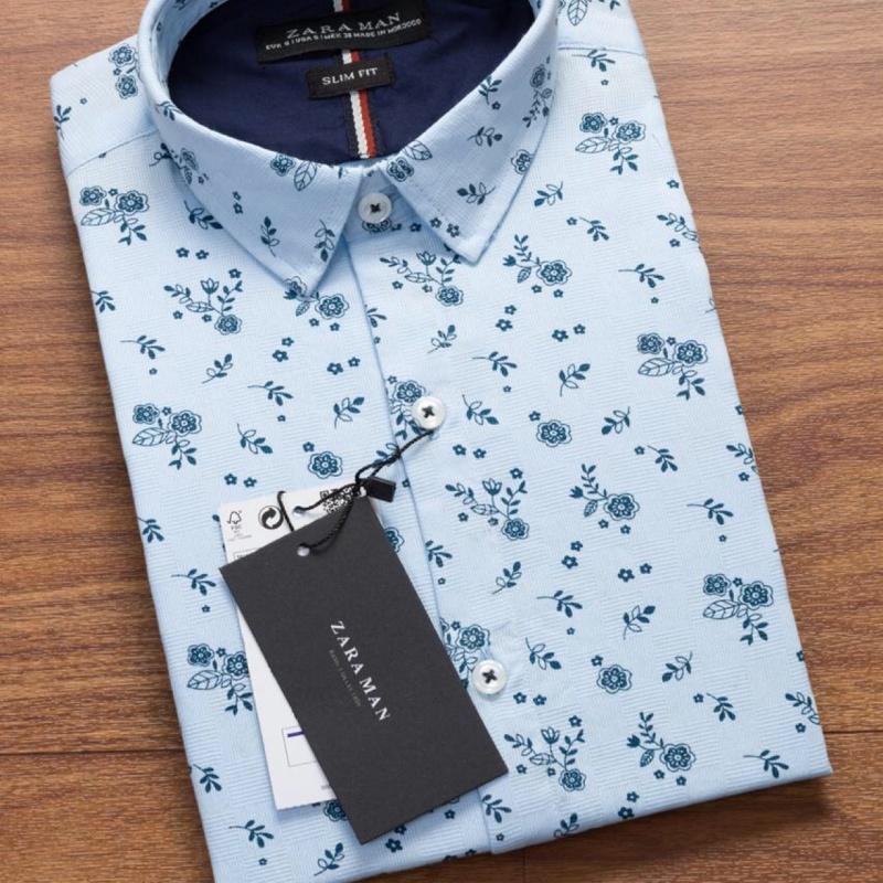 ad017e53 Zara floral print shirts - blue , peach white colour from Zara ...
