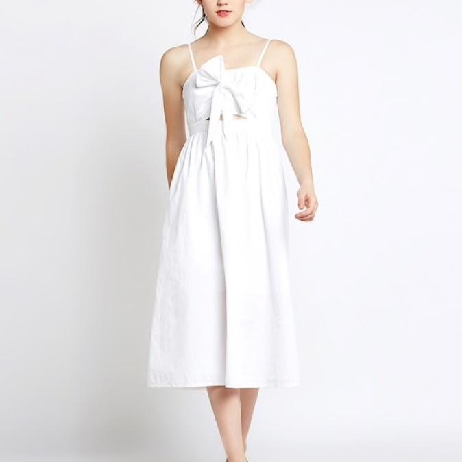 82cedf123f White midi slip dress from Stalk Buy Love – coutloot.com