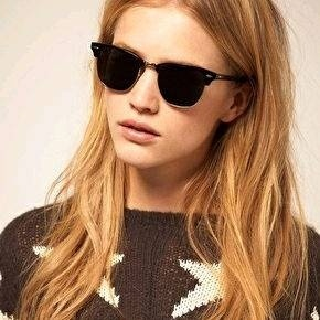 rayban Black Glass Black framed Gold finish Clubmaster-style sunglasses for  Women New stylish Fancy trendy Ray Ban Goggles from Ray Ban – coutloot.com 959c93147