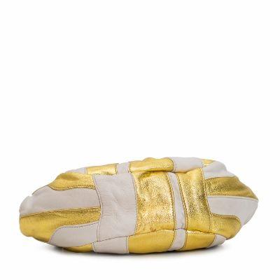 41fe8ec9f Prada Nappa Stripes Shoulder Bag Cera Oro from Club Factory ...