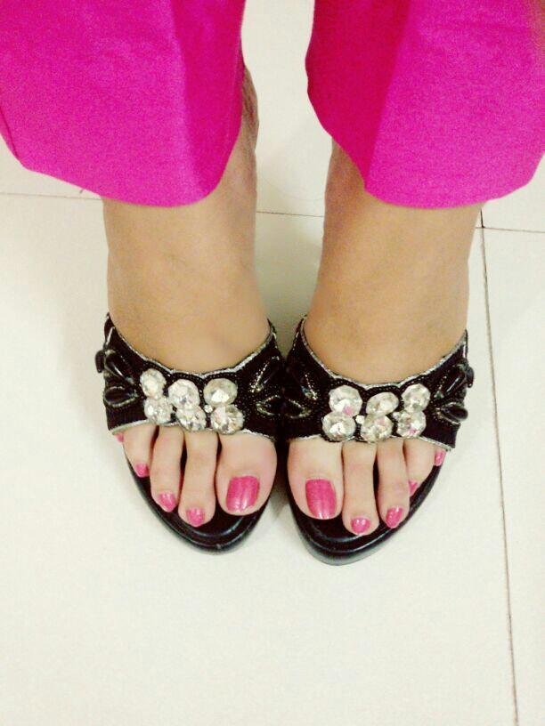 16171f1edfd7 Pretty embellised heels from Club Factory – coutloot.com