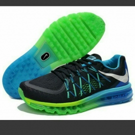 the latest 503a9 b2c8e Nike Airmax blue and green
