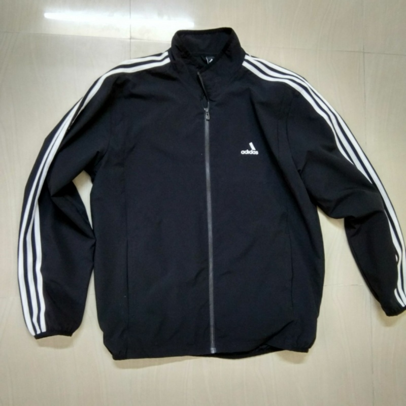 f682a14db93f Adidas Men Black Essentials 3 Stripes Woven Tracksuit from Adidas –  coutloot.com